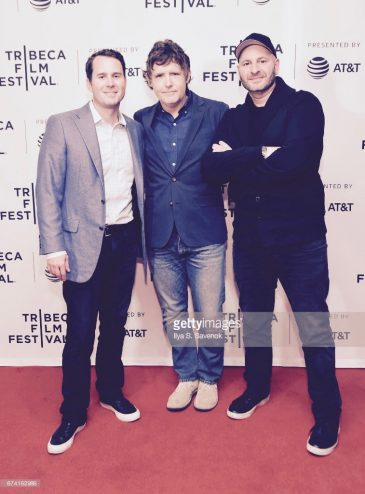 "Executive Producers, David George, John Dorsey & Andrew Stephan attend the ""Year of the Scab"" Premiere during the 2017 Tribeca Film Festival at Cinepolis Chelsea on April 27, 2017 in New York City."