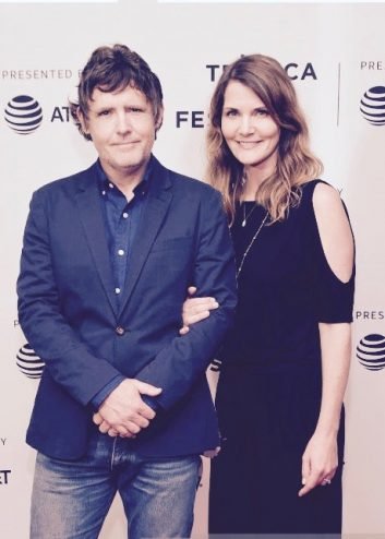 "John and Kelly Dorsey attends the ""Year of the Scab"" Premiere during the 2017 Tribeca Film Festival at Cinepolis Chelsea on April 27, 2017"